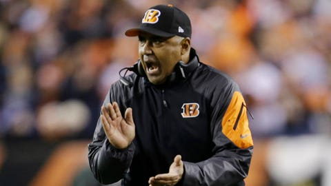 Hand on the stove just to see how it feels:  Marvin Lewis, Cincinnati Bengals (3-4-1)