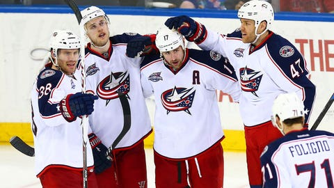 What are your impressions of the Blue Jackets having played them a few times over the past three seasons?