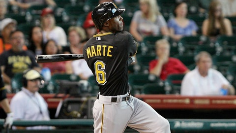 Starling Marte, Pittsburgh Pirates (July 26, 2012)