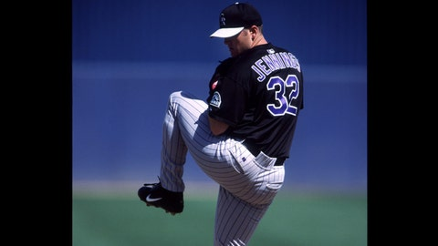 Jason Jennings, Colorado Rockies (August 23, 2001)