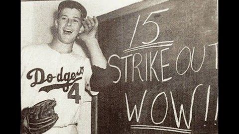 Karl Spooner, Brooklyn Dodgers (Sept. 22, 1954)
