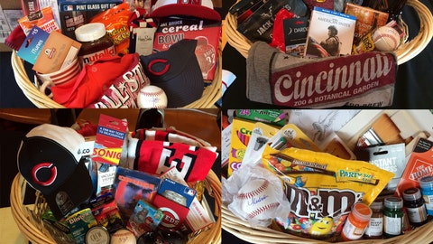 Guess the player: Reds favorite things basket