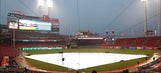 Brewers at Reds game postponed because of rain