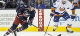 Islanders use big second period to top Blue Jackets 5-2