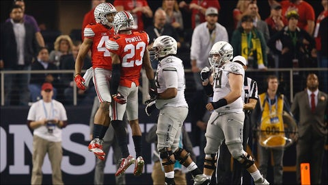 Darron Lee and Tyvis Powell