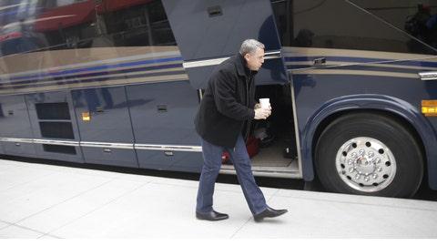 Reds Caravan departure