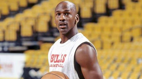 Michael Jordan, March 28, 1995; May 1, 1988; June 16, 1993; April 27, 1997