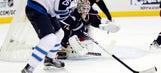 Bobrovsky struggles, Jackets fall to Jets 3-2