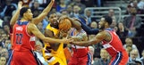 Wall scores 35 as Wizards hand Cavaliers first home loss, 97-85