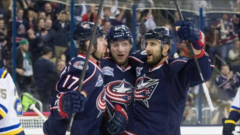 Murray, Dubinsky and Foligno