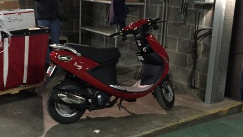Tito's scooter
