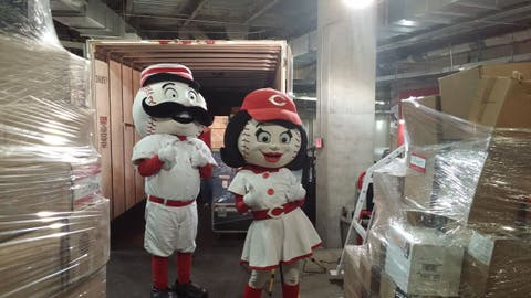 Reds get packing for spring training in Goodyear