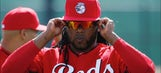 Cueto leaves Reds camp for family health issue