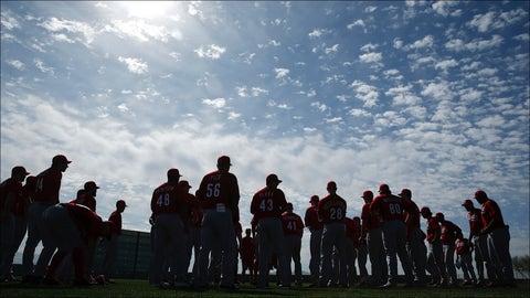 Reds Spring Baseball