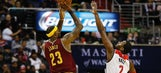 Watch LeBron James and John Wall do battle