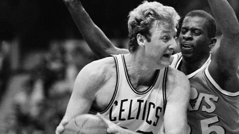 Warriors: Purvis Short over Larry Bird (1978)