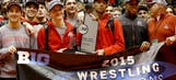 Buckeye wrestlers share first Big Ten title since 1951