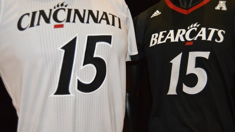 Bearcats postseason uniforms