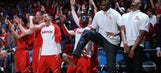 Going dancin'! Best shots from Dayton's big win