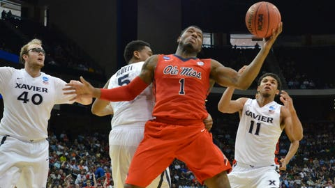 NCAA Mississippi Xavier Basketball