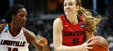 Still dancing! Dayton women upset Louisville to advance to Elite 8