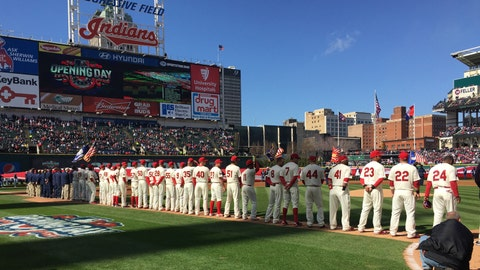 Best sights from Cleveland Indians home opener