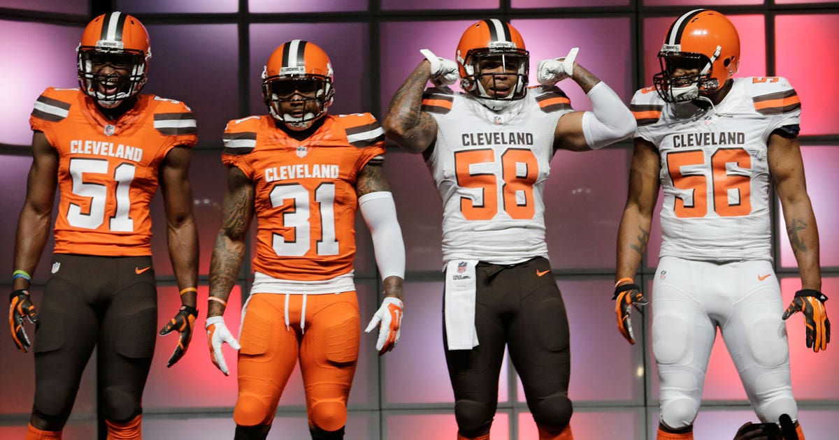 Check Out The New Uniform Combo Browns Will Wear In