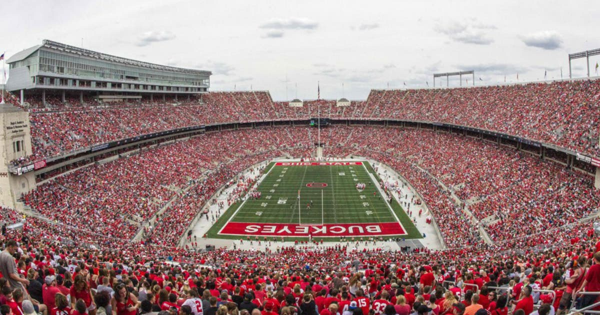 2b9b2f673 Buckeyes set record with spring game attendance