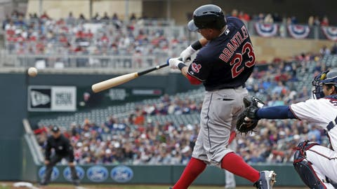 Michael Brantley will hit 40 doubles and steal 30 bases