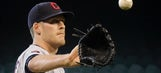 Indians' Hagadone leaves rehab outing early with elbow pain