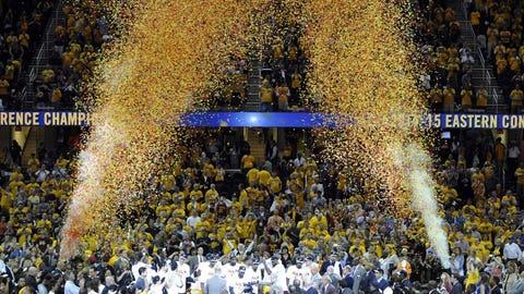 Cavs advance to NBA Finals