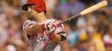 Suarez's homer breaks deadlock, Reds beat Nationals 3-2
