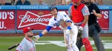 Holmberg struggles, Reds fall to Dodgers 8-3