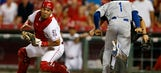 Reds 13th-inning error sends Royals to 3-1 win