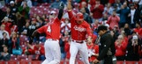 Reds beat Brewers 9-5 behind Simon and Redlegs' home runs