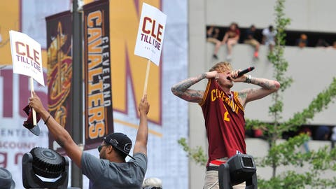 Out here in Cleveland