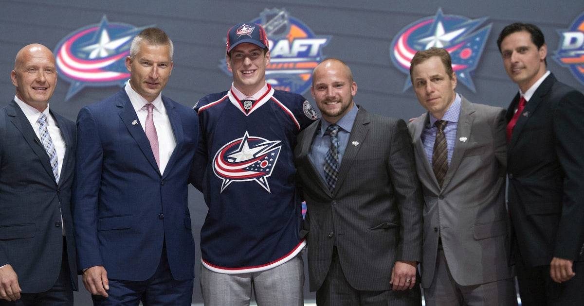 Blue Jackets select Pierre-Luc Dubois with third pick in NHL Draft ...