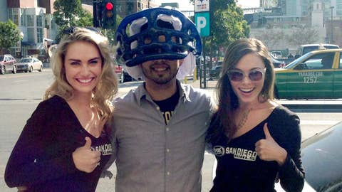 FSSD Girls with Chargers fan