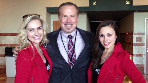 "FSSD Girls with Phil ""#AnaheimDucksGoooaaalll"" Hullet"