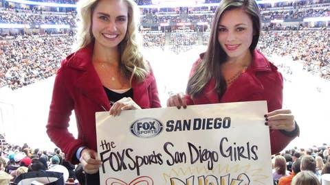 FSSD Girls at Ducks Game
