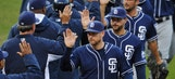 Padres split Wednesday's doubleheader against Indians