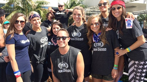 #FSSDDodgeball benefiting After-School All-Stars at the FOX Sports San Diego Grill