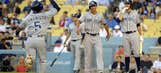 Quentin's 3 RBIs help Padres beat Dodgers 6-3