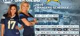 FOX Sports San Diego Girls Chargers Wallpaper Calendar