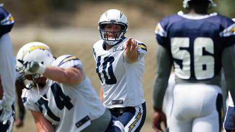 Chargers QB Kellen Clemens, $1.5 million