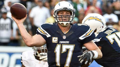 16. San Diego Chargers