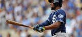 Padres' outfielder Justin Upton moves up in NL All-Star voting
