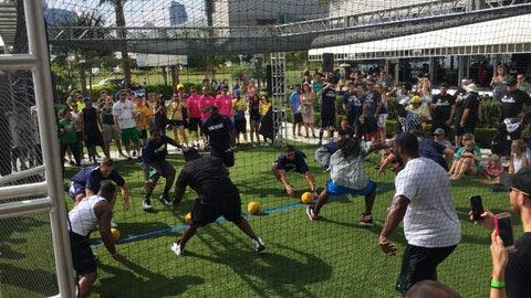 FOX Sports San Diego Dodgeball Tournament 2015