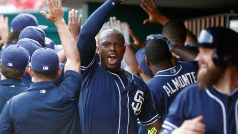 Justin Upton is pumped