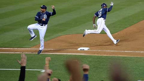 Justin Upton's homer wins it